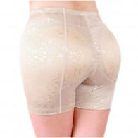 Butt & Hip Secret - Falso nalga bragas push-up con el caderas - Beige