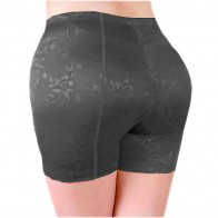 Butt & Hip Secret  - Falso nalga bragas push-up con el caderas - Negro