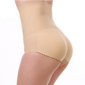Butt Secret Bragas Push Up Cintura Alta | Piel